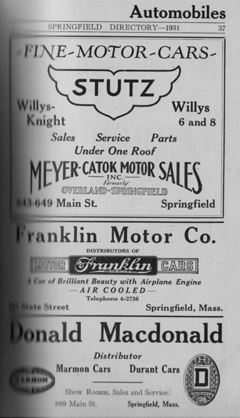 Springfield Directory Ads 1931 019