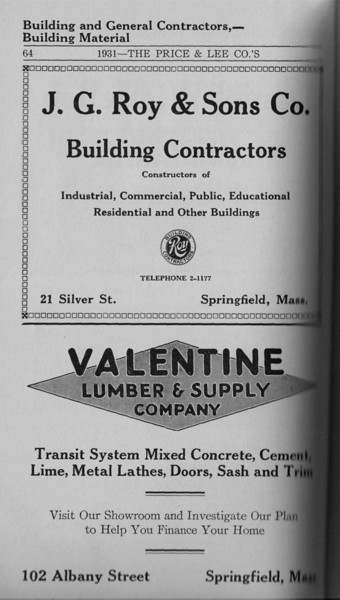 Springfield Directory Ads 1931 046