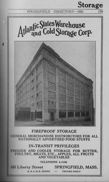 Springfield Directory Ads 1931 168