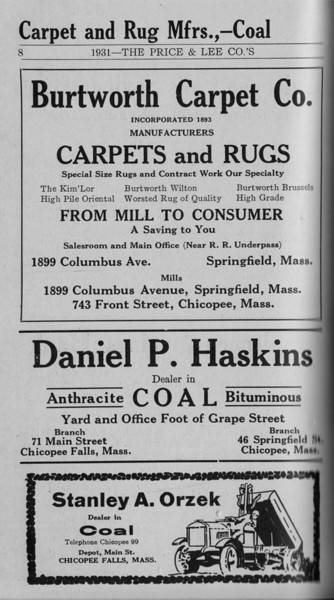 Springfield Chic Directory Ads 1931 06