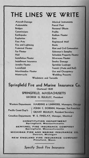 Springfield Bus Directory 1933 105
