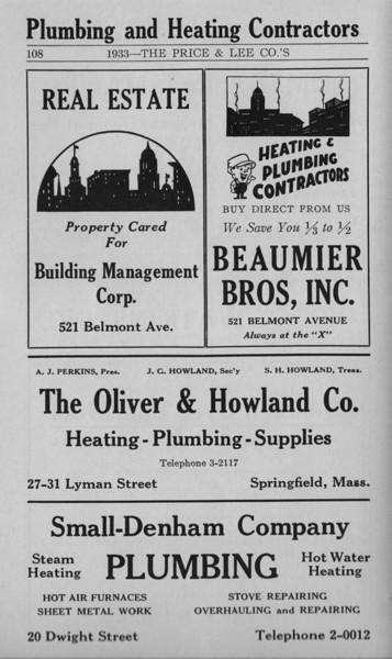 Springfield Bus Directory 1933 106