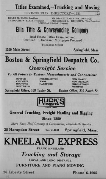 Springfield Bus Directory 1933 082