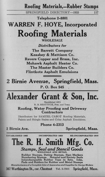 Springfield Bus Directory 1933 090