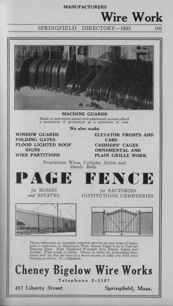 Springfield Bus Directory 1933 078
