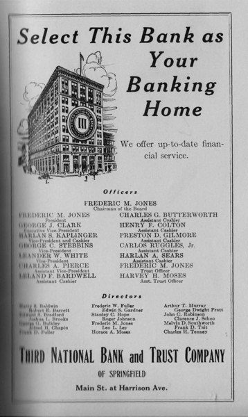 Springfield Bus Directory 1933 100