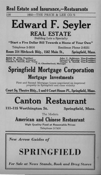 Springfield Bus Directory 1933 110