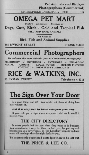 Springfield Bus Directory 1933 085