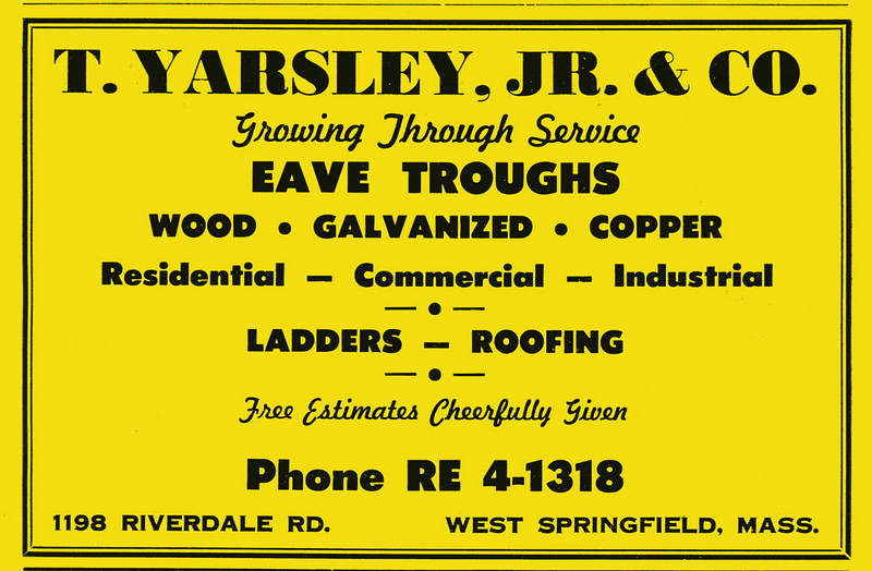 Springfield City Directory 1957 jr