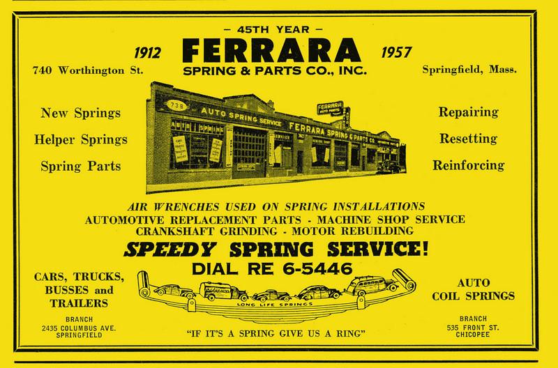 Springfield City Directory 1957 1bk