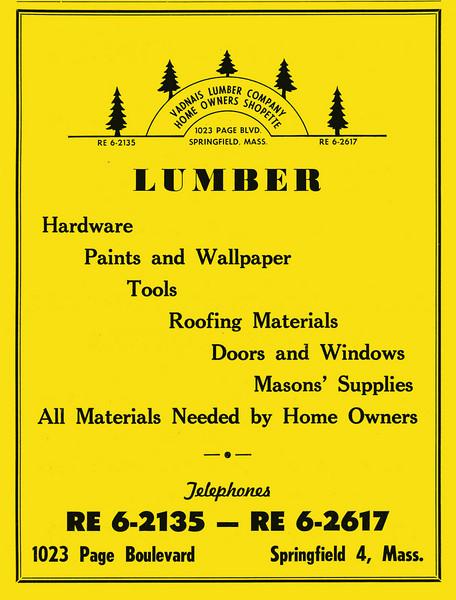 Springfield City Directory 1957 1fr