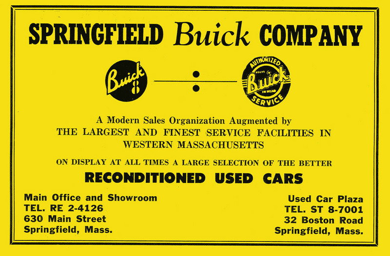 Springfield City Directory 1957 1ae