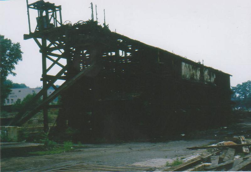 Springfield Coal Elevator Fire 1