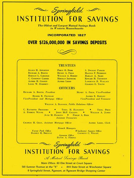 Springfield City Directory 1957 1bx