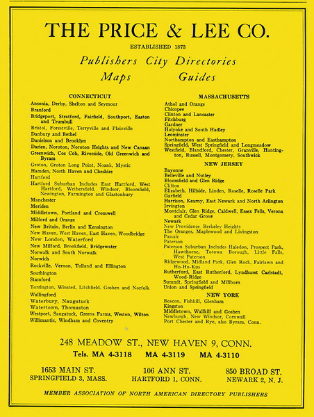 Springfield City Directory 1957 1ig