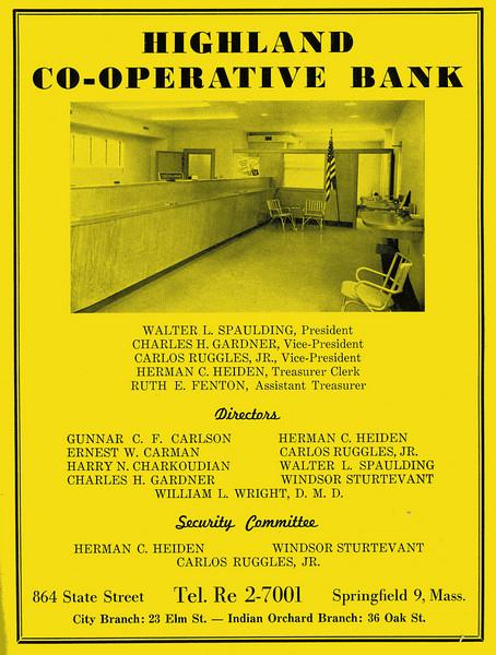 Springfield City Directory 1957 1c