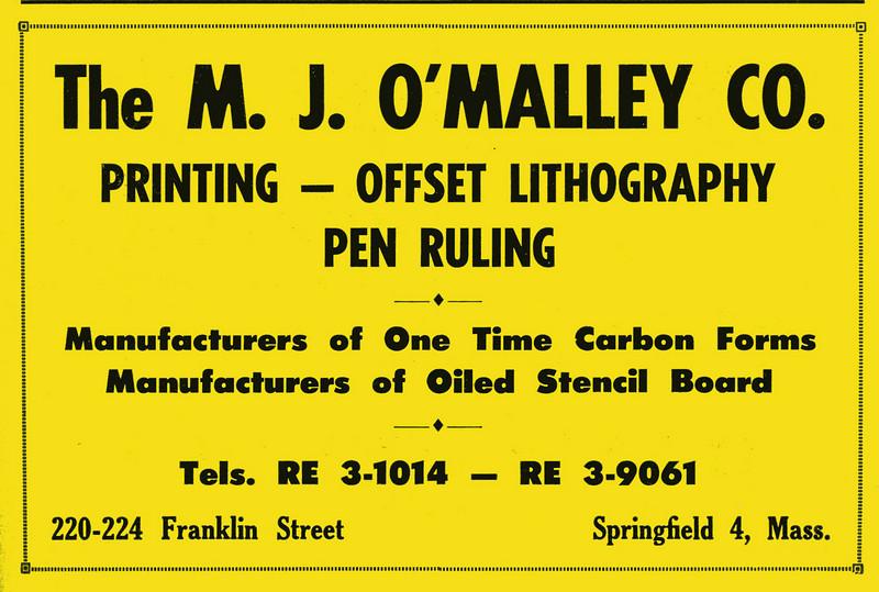Springfield City Directory 1957 1hp