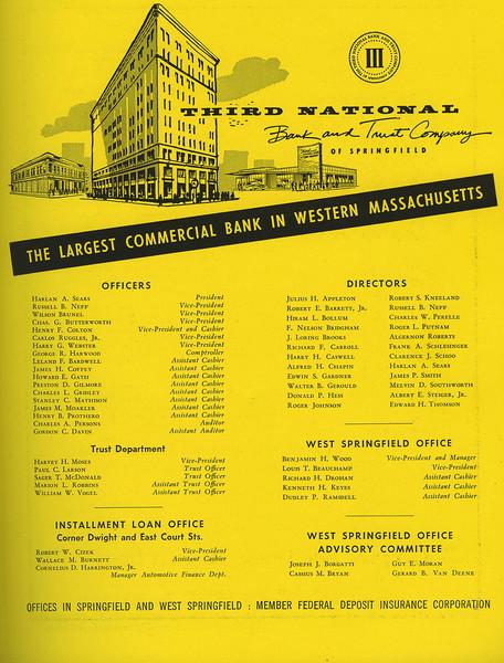 Springfield City Directory 1957 1bu