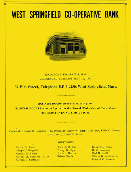 Springfield City Directory 1957 1kg
