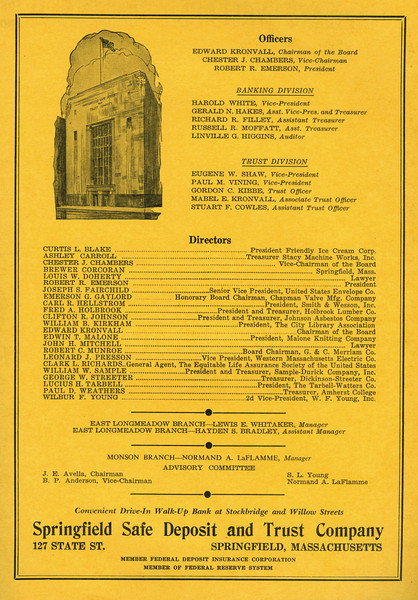 Springfield City Directory 1957 1kc