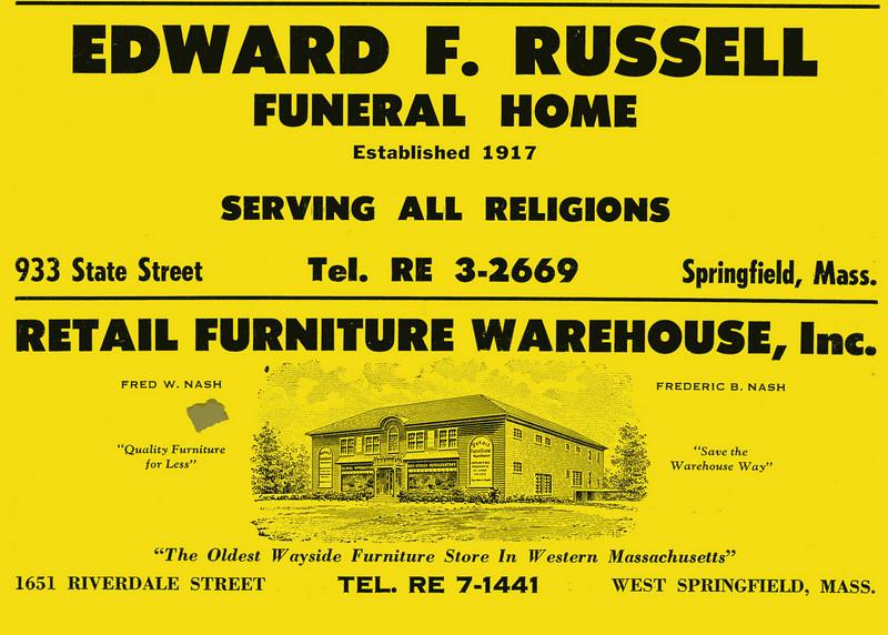 Springfield City Directoru 1957 1dv