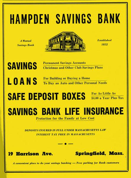 Springfield City Directory 1957 1bw
