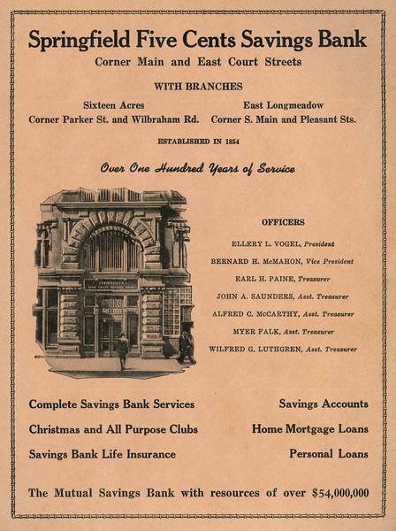 Springfield City Directoru 1957 1jv