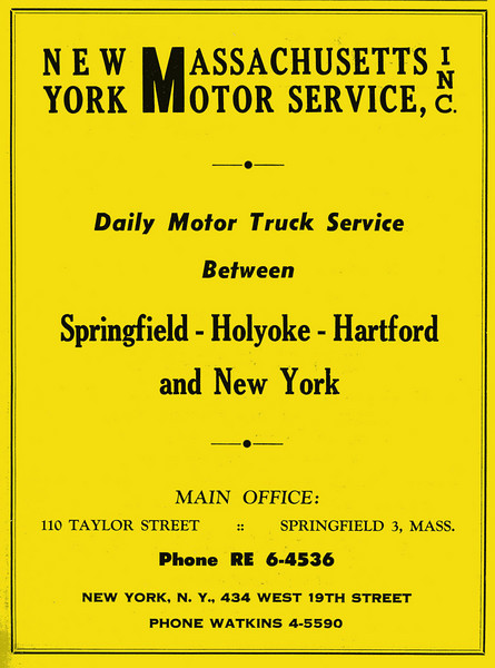 Springfield City Directory 1957 1kw