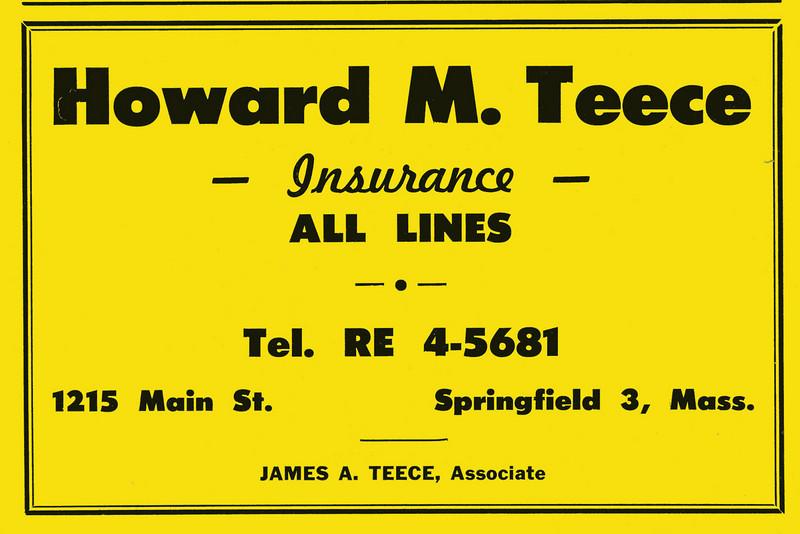 Springfield City Directory 1957 1ea