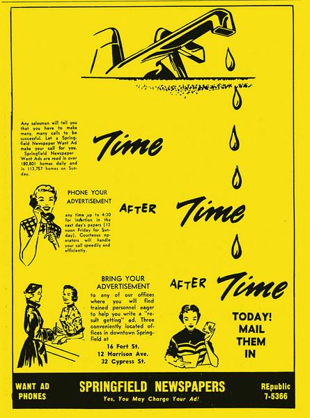 Springfield City Directory 1957 1hj