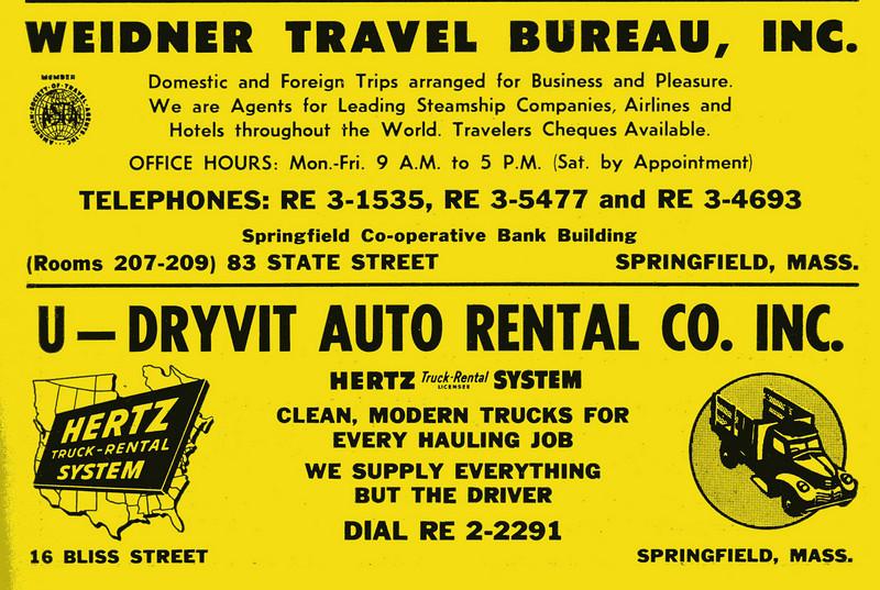 Springfield City Directory 1957 1ic