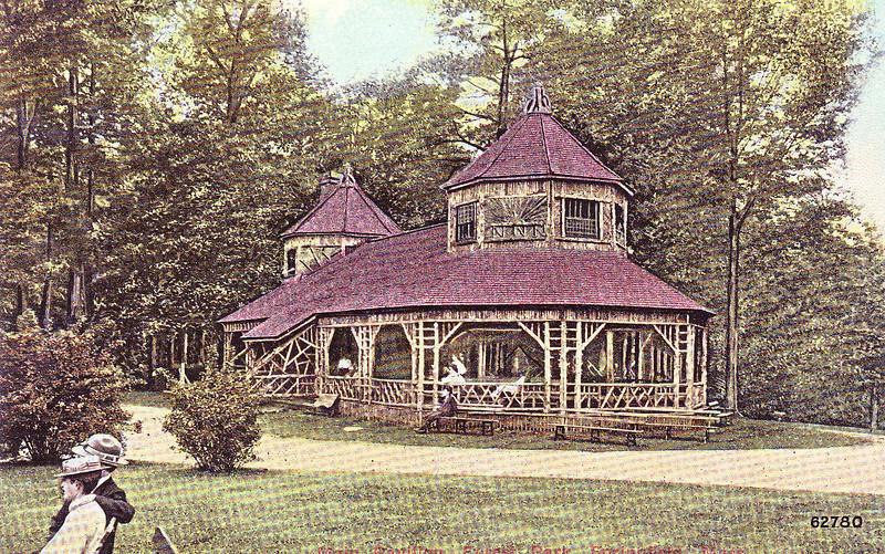 Forest Park Rustic Pavilion 2