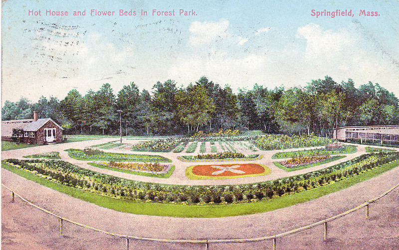 Forest Park Hot House & Flower beds 2