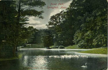 Forest Park Night Scene 1910