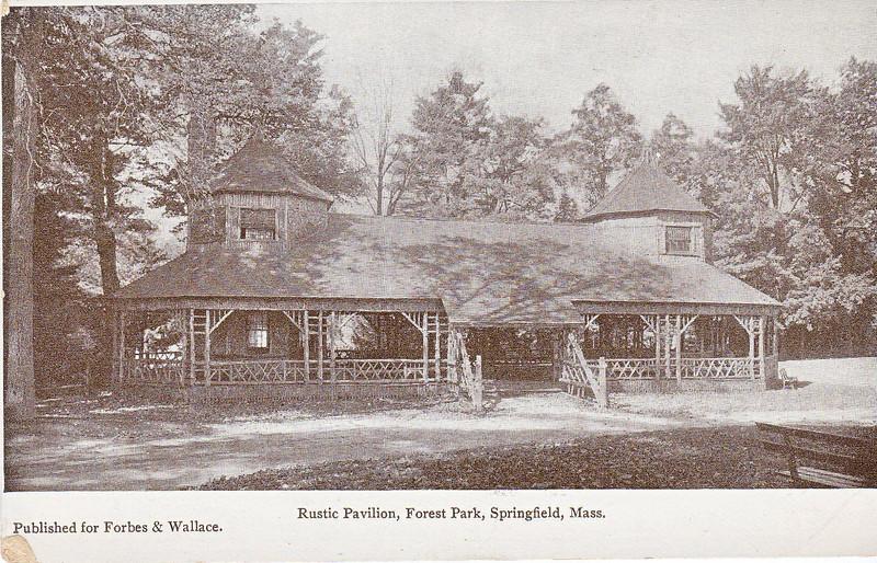 Forest Park Rustic Pavilion 3