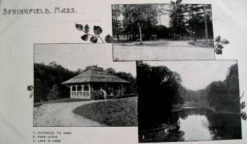 Spfld Piv Mail cards Forest Park 1898