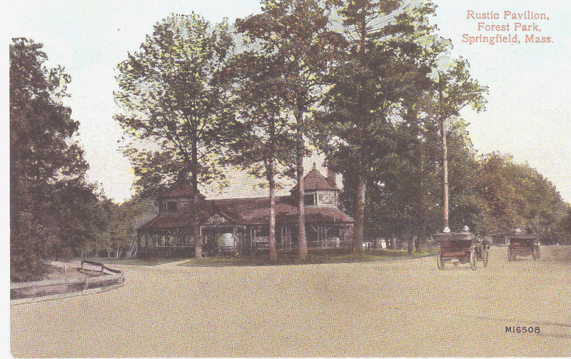 Forest Park Rustic Pavilion