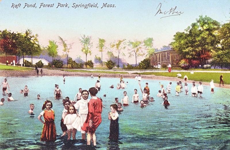 Forest Park Raft Pond
