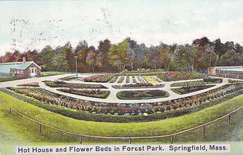Forest Park Hot House & flower bedss