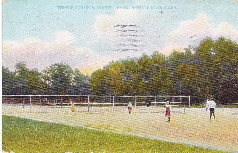 Forest Park Tennis Courts