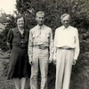 4a. Bill with his folks in September, 1943 before going overseas.
