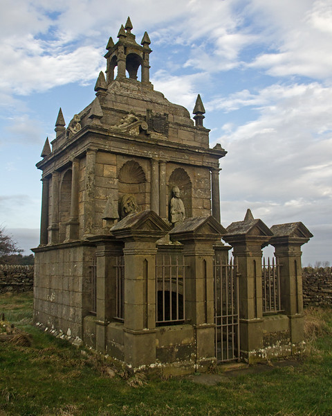 St Andrew's church and Hopper Mausoleum