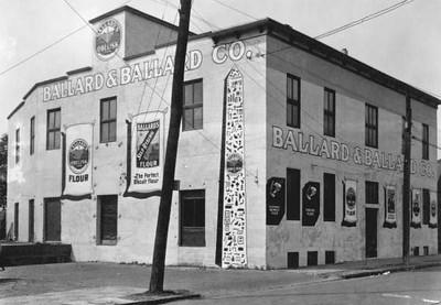 The Ballard and Ballard Company warehouse. State Archives of Florida, Florida Memory, http://floridamemory.com/items/show/51374