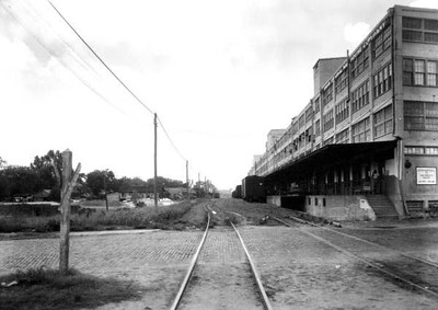 Photograph of Union Terminal Warehouse on July 8, 1949. State Archives of Florida, Florida Memory, http://floridamemory.com/items/show/52952