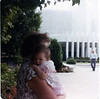 Sarah & Grammie MacDonald at the Washington D.C. temple
