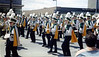 Central High School marching down Elm Street in our band uniforms.