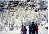 Sarah, Janine, Kristen & Keith Stickney on the ski slopes