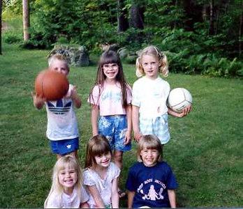 ?, Kristen, ?, Janine, Sarah & Gretchen Stickney