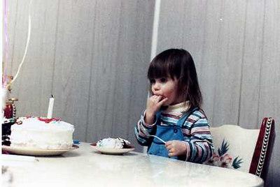 Kristen Stickney at her 2nd birthday