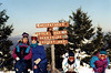 Linda, Kristen, Sarah & Janine Stickney on the slopes